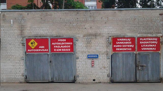 Autoservisai Vilniuje Ateities g